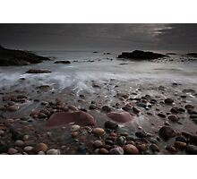 auchmithie beach Photographic Print