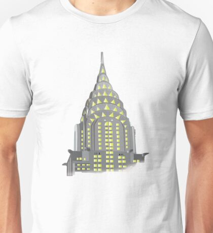 The Chrylser Building of New York Unisex T-Shirt
