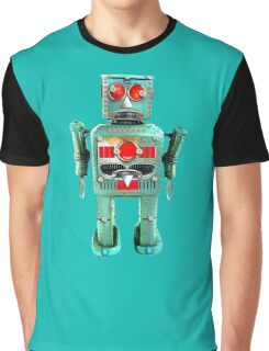 Vintage Robot T- shirt Graphic T-Shirt