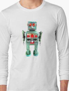 Vintage Robot T- shirt Long Sleeve T-Shirt