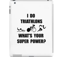 Triathlon Super Power iPad Case/Skin