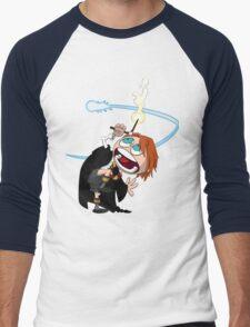 Ron tries something New Men's Baseball ¾ T-Shirt