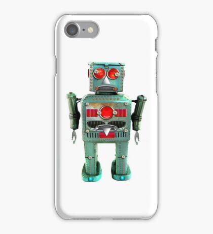 Vintage Robot iPhone Case iPhone Case/Skin
