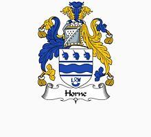 Horne Coat of Arms / Horne Family Crest Unisex T-Shirt