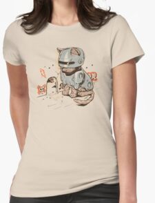 ROBOCAT Womens Fitted T-Shirt