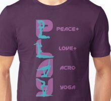 P+L+AY Poses Vertical - Purple Unisex T-Shirt