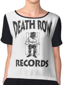 Death Row Records  Chiffon Top