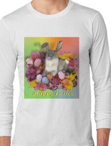 Easter Kitty  Long Sleeve T-Shirt