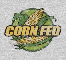 Corn Fed T Shirt, vintage, retro One Piece - Short Sleeve
