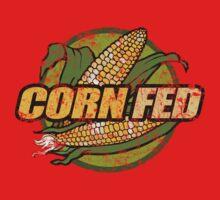Corn Fed T Shirt, vintage, retro One Piece - Short Sleeve