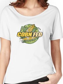 Corn Fed T Shirt, vintage, retro Women's Relaxed Fit T-Shirt
