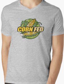 Corn Fed T Shirt, vintage, retro Mens V-Neck T-Shirt