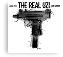 The Real Uzi Canvas Print