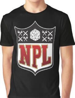 Nerd Poker League Graphic T-Shirt