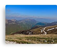 Alps Mountains Canvas Print