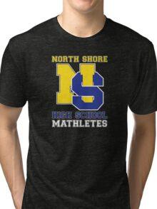 North Shore High School Mathletes Tri-blend T-Shirt