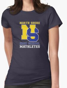 North Shore High School Mathletes Womens Fitted T-Shirt