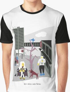 Sir Isaac New Town Graphic T-Shirt