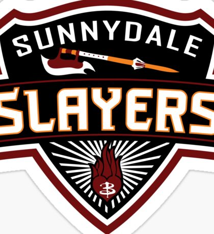Sunnydale Slayers Sticker