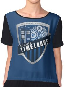 Gallifrey Timelords Chiffon Top