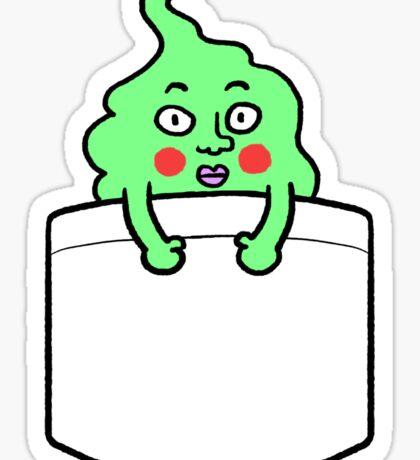dimple sticker Sticker