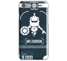 Mr Zurkon - Ratchet and Clank iPhone Case/Skin