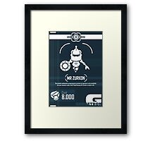 Mr Zurkon - Ratchet and Clank Framed Print