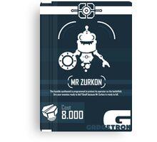 Mr Zurkon - Ratchet and Clank Canvas Print