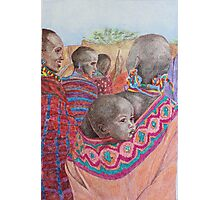 African Mother with Child Photographic Print