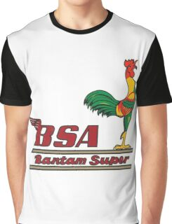 BSA Bantam motorcycle Graphic T-Shirt