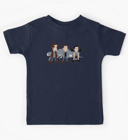 Sam, Dean, Castiel Kids Tee