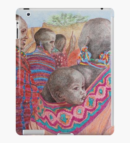 African Mother with Child iPad Case/Skin
