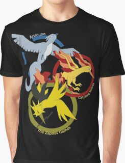 Birds x The Hunger Games (v2) Graphic T-Shirt