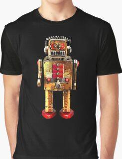 Vintage Robot 2 T-Shirt Graphic T-Shirt