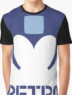 Retro - Blue Bomber Graphic T-Shirt