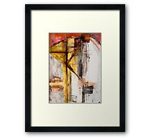 WE DIE AND RISE THE SAME—DONNE Framed Print