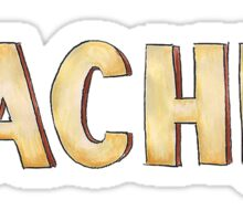 Rachel friends tv  Sticker