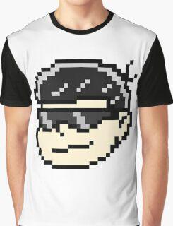 Pixel- Karamatsu Painful Face Graphic T-Shirt