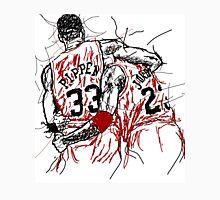 "Scottie Pippen and Michael Jordan ""Flu Game"" Unisex T-Shirt"