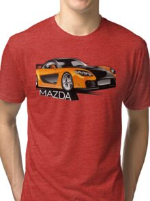 Mazda RX-7 Veilside Tri-blend T-Shirt