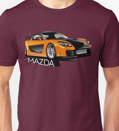 Mazda RX-7 Veilside Unisex T-Shirt