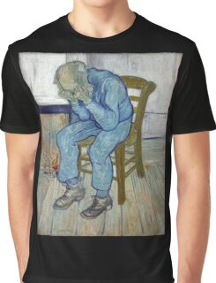 'At Eternity's Gate' by Vincent Van Gogh (Reproduction) Graphic T-Shirt