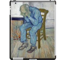 'At Eternity's Gate' by Vincent Van Gogh (Reproduction) iPad Case/Skin