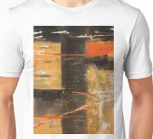 COFFEE AND ORANGES IN A SUNNY CHAIR—STEVENS Unisex T-Shirt