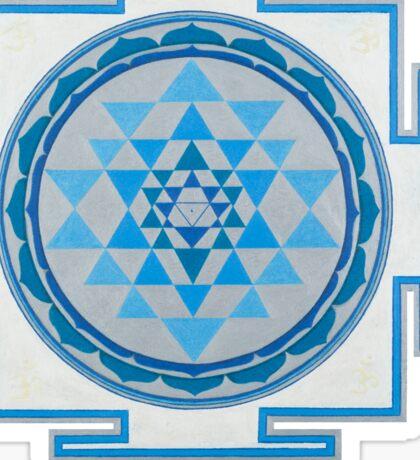 Sri Yantra No Background Sticker