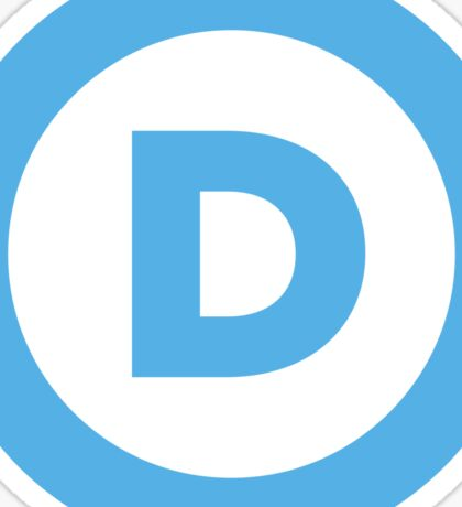 Democratic Party Sticker