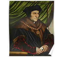 Sir Thomas More Painting Poster
