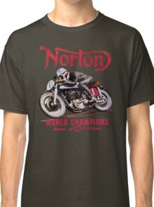 NORTON MOTORCYCLE VINTAGE ART Classic T-Shirt
