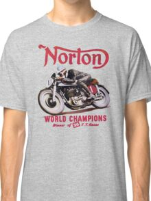 NORTON MOTORCYCLE VINTAGE ART Classic T-Shirt