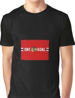 One Goal Chicago Blackhawks Graphic T-Shirt
